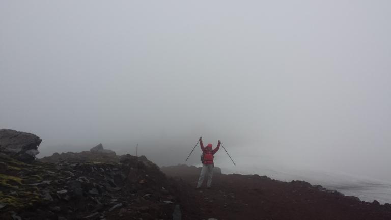 Tag 1 Ziel Notunterkunft irgendwo im Nebel 20130703_174915